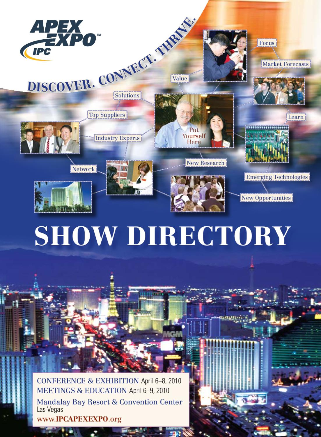 IPC APEX EXPO 2010 Show Directory by IPC - issuu
