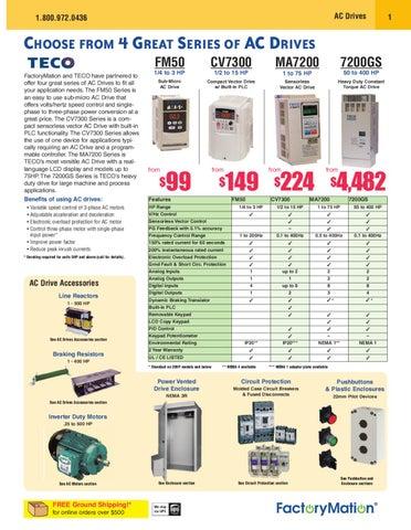 factorymation catalog april 2010 by factorymation issuuGt Weg Electric Miniature Contactors 3pole Gt 7 Amp Ac3 Gt Ecc0r #1