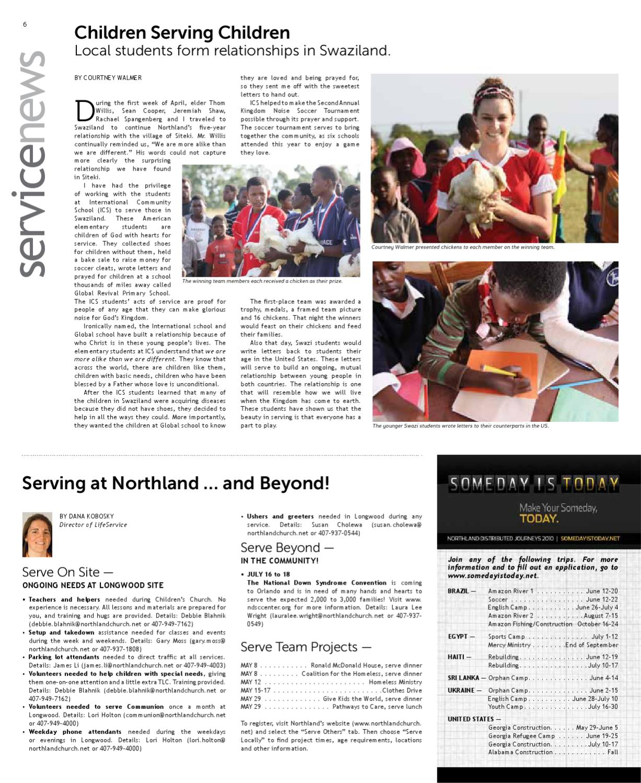 Northland News Vol 11/Iss 18 by Northland Church - issuu