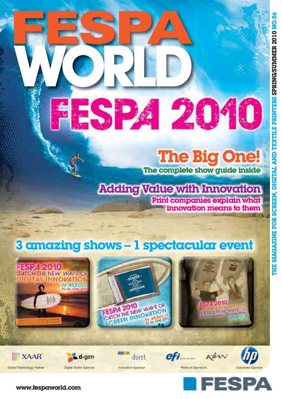 Fespa World 2010 Show Edition By Issuu Green Circuit Board Fabric Craftyscientists On Spoonflower Custom