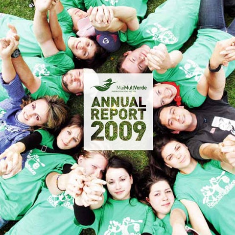 Annual Report 2009 by Asociaţia MaiMultVerde - issuu