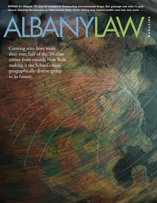 Albany Law Magazine - Spring 2007 by Albany Law School - issuu