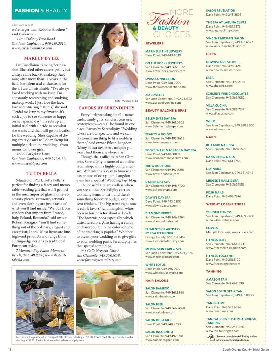 South Orange County Bridal Guide By San Clemente Times Issuu