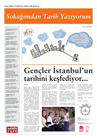48a93223a2525 Genç Hayat Vakfı'nın sözlü tarih projesi.