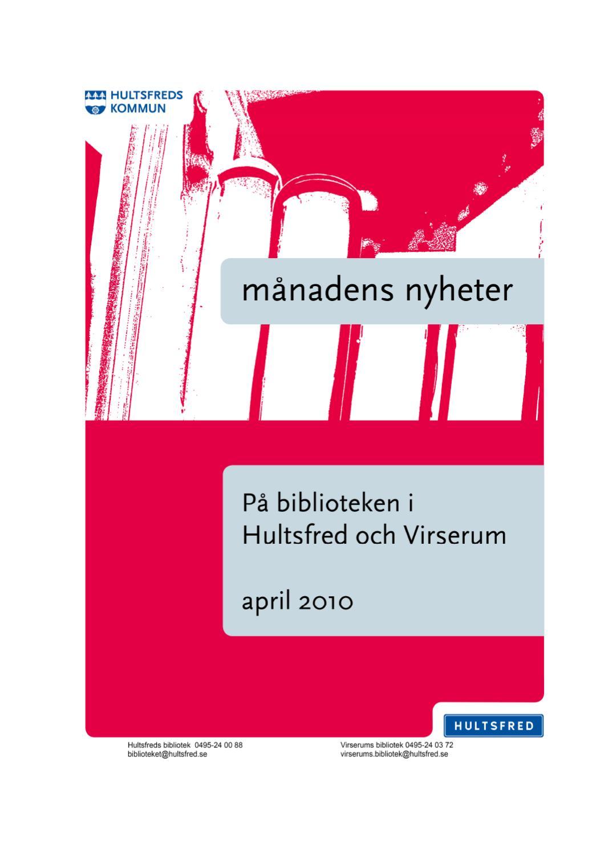 Nya Medier April 2010 By Biblioteket Hultsfred Issuu border=
