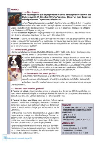 centrale canine mairie