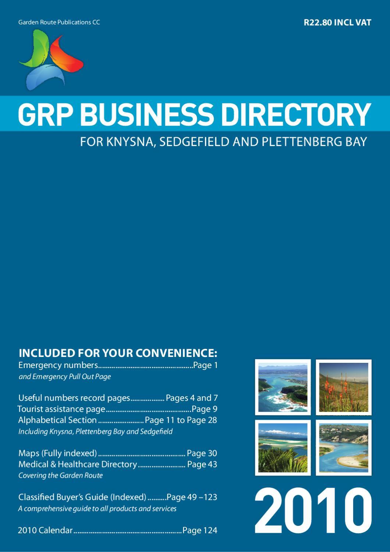 GRP Business Directory 2010 by Rikke Dammann - issuu