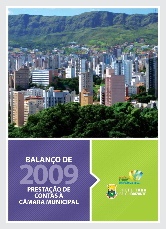e27151ae81b Balanço de 2009 - Prestação de Contas à Câmara Municipal by PBH Geel - issuu