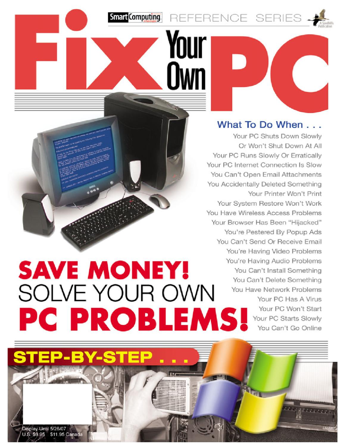 Fix Your Own Pc By Pramod Gaykar Issuu Repair Short Circuit In Ethernet Broadband Router Cell Phone