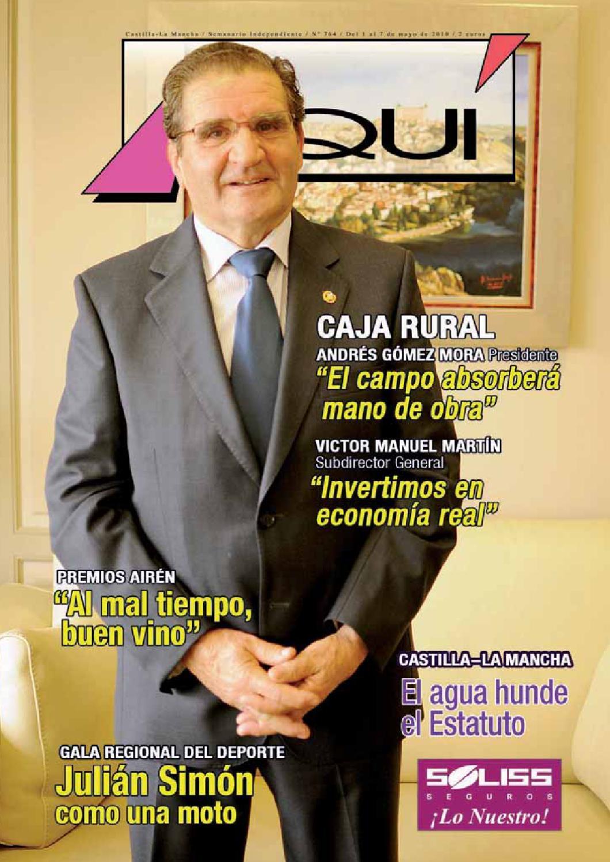Revista Aqui 764 Castilla La Mancha By Revista Aqu Castilla La  # Muebles Lainar Talavera Dela Reina