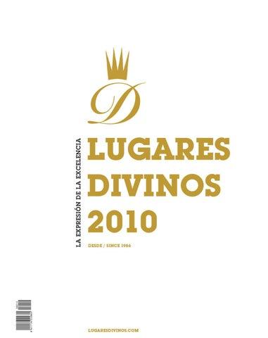Lugares Divinos 2010 By Synergias De Prensa S L Issuu