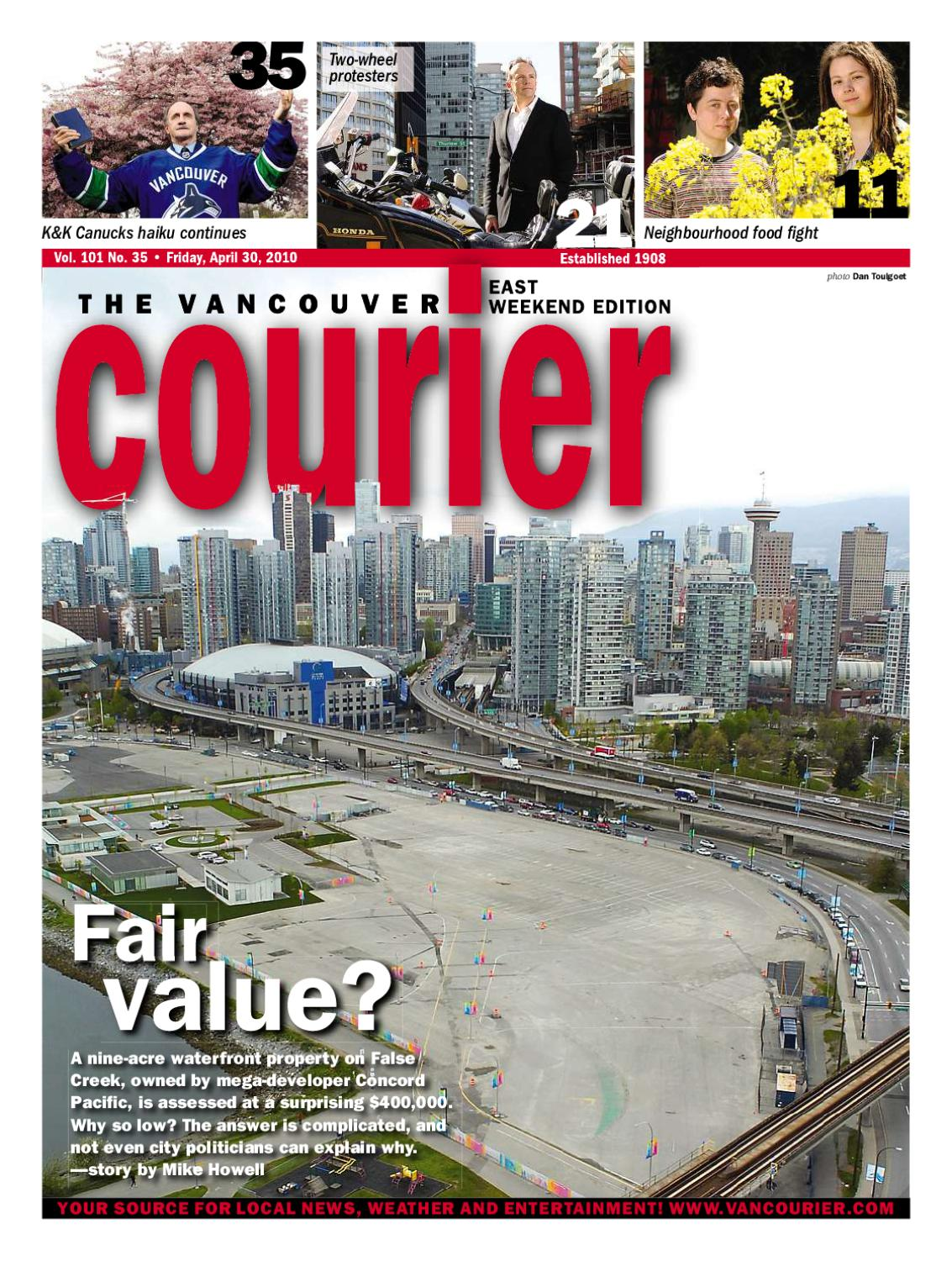 f15f193ab3d6 Vancouver Courier - April 30th 2010 by Postmedia Community Publishing -  issuu