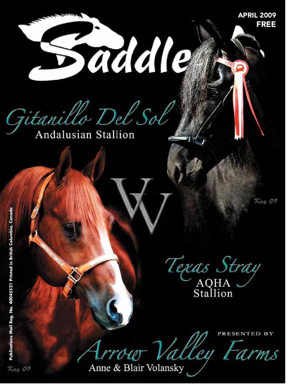 Saddle Up April-09 by Saddle Up magazine - issuu