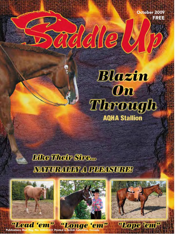 Saddle Up Oct-09 by Saddle Up magazine - issuu