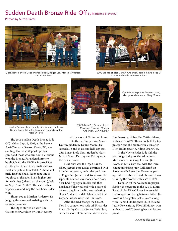 ISSUU - Saddle Up April 2010 by Saddle Up magazine