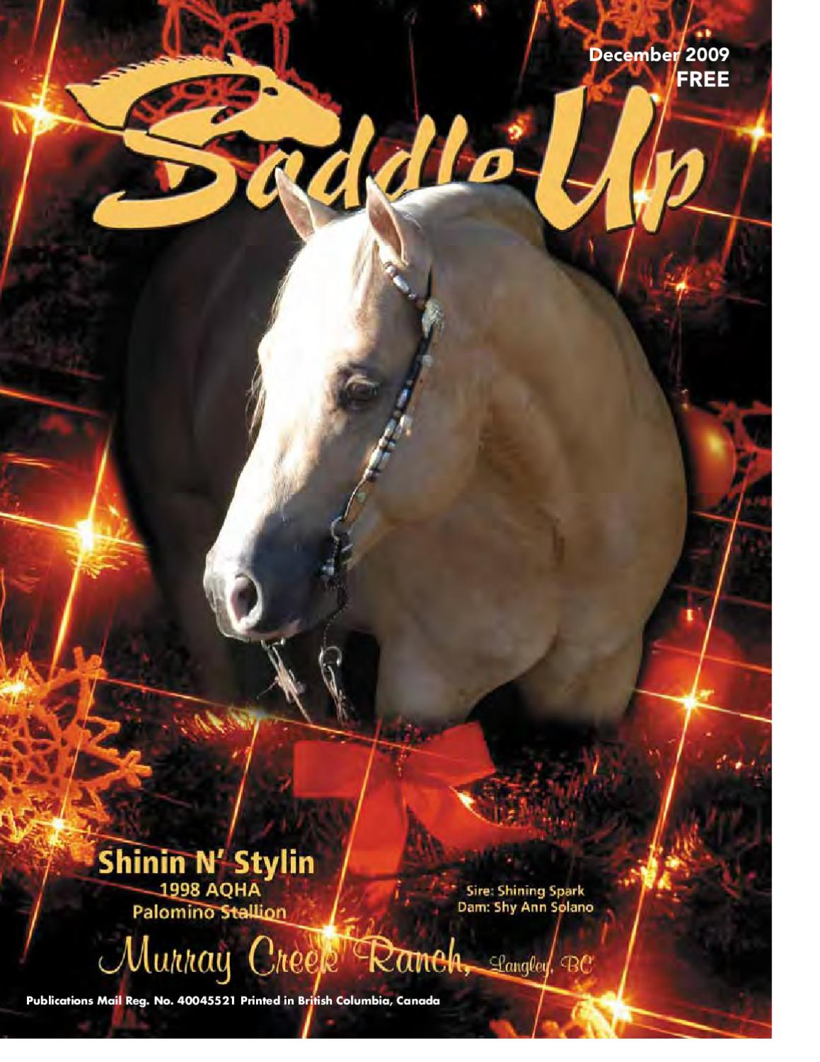 1b59807fd5d38 Saddle Up Dec 2009 by Saddle Up magazine - issuu