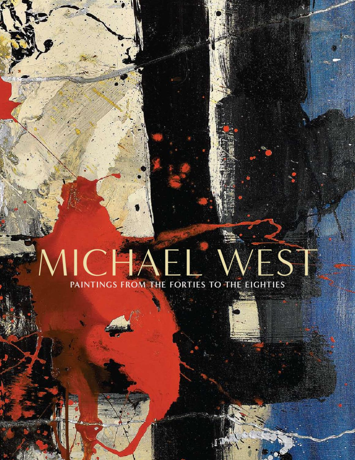 Michael West Paintings From The Forties To The Eighties