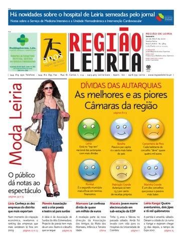 Regiao de Leiria, 30 de Abril de 2010 by Região de Leiria Jornal - issuu 53d2e43070