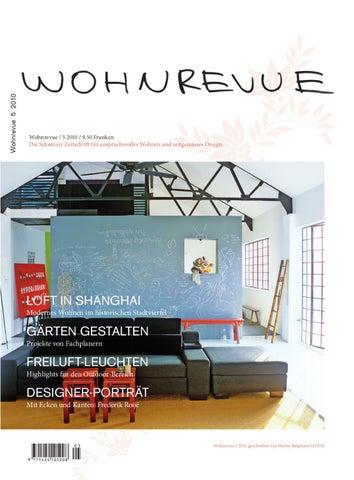 Wohnrevue 05 2010 By Boll Verlag Issuu
