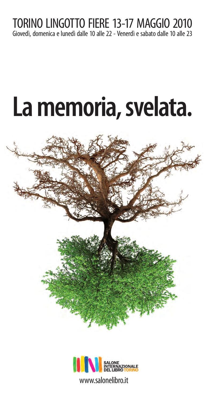 Il programma completo del Salone del libro 2010 by Fondazione per il Libro 71442ee5b04