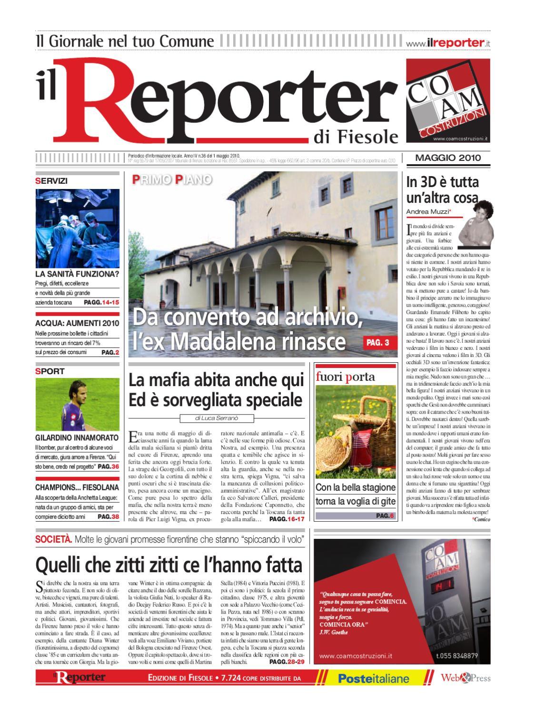 6819bae16f Il reporter-Fiesole-maggio 2010 by ilreporter - issuu