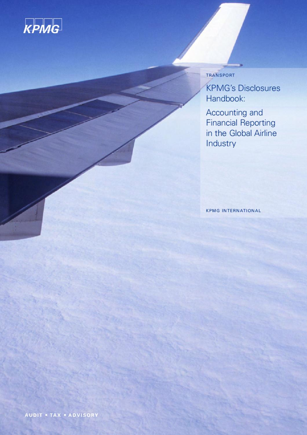 KPMG's Disclosures Hanbook 2005 - Accounting and Financial