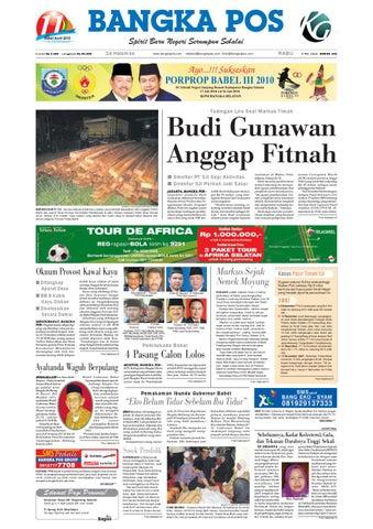 Harian Pagi Bangka Pos Edisi 05 Mei 2010 by bangka pos - issuu 23298f4406