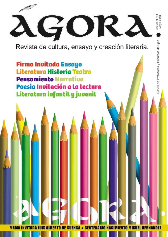 Gora N 8 By Gora Revista De Cultura Ensayo Y Creaci N Literaria  # Muebles Casal Tauste
