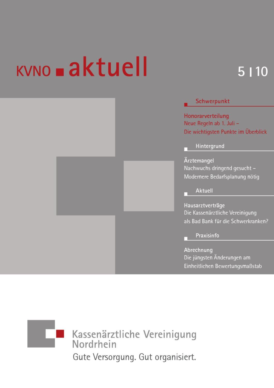 kvno aktuell 5 2010 by kv nordrhein issuu. Black Bedroom Furniture Sets. Home Design Ideas