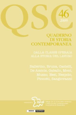 quaderno di storia contemporanea 46 by Edizioni Falsopiano - issuu 7696f7e82c3a