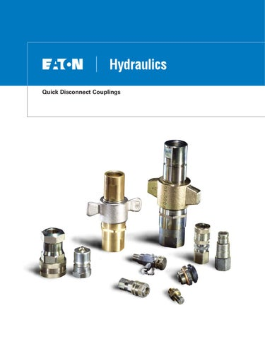 Eaton Aeroquip Quick Disconnect Couplings By Murdock