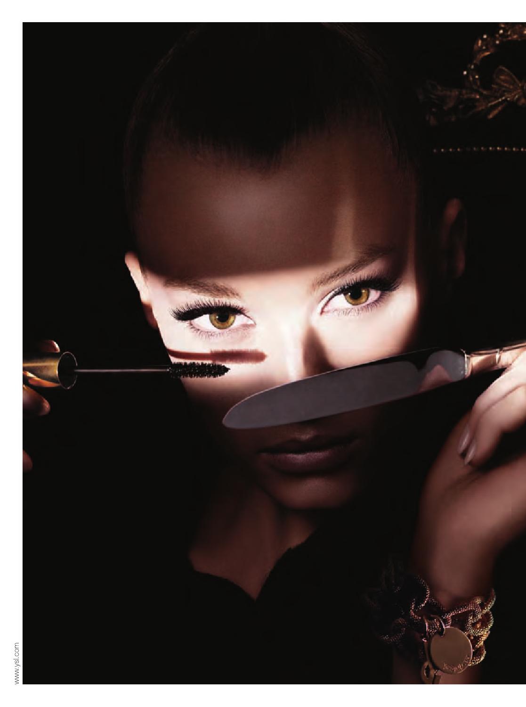 Make-up für schlanke, abweichende Gesichtszüge