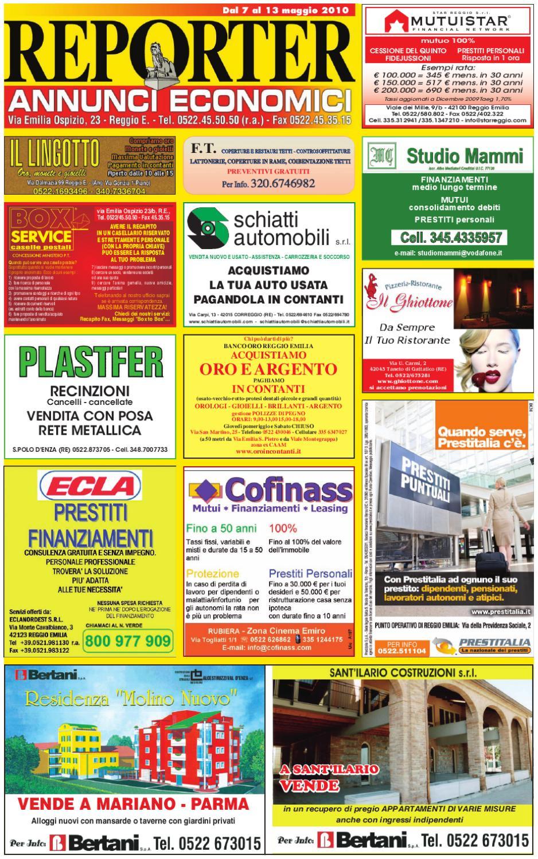 Reporter Annunci 7 Maggio 2010 by Reporter - issuu 30c3e37f9067