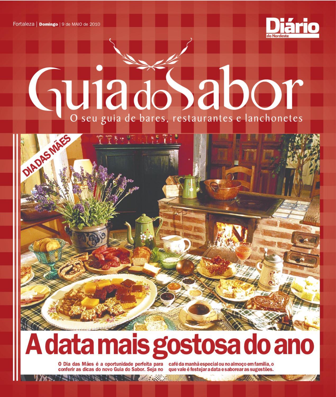 83ead1ab2e0 Guia do Sabor 9 de MAIO de 2010 by Portal Verdes Mares - issuu