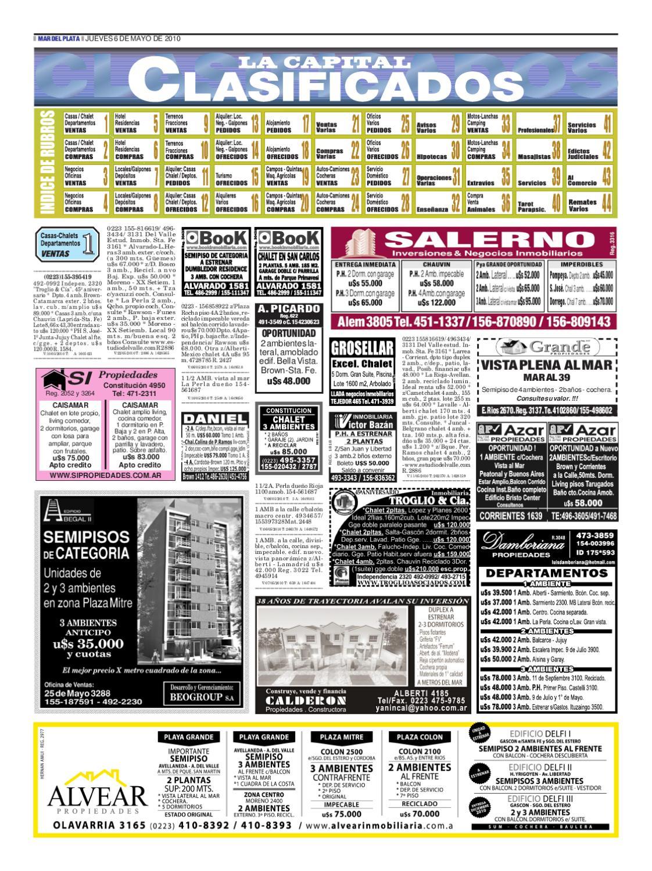 Clasificados del jueves 6 de mayo by Diario La Capital - issuu
