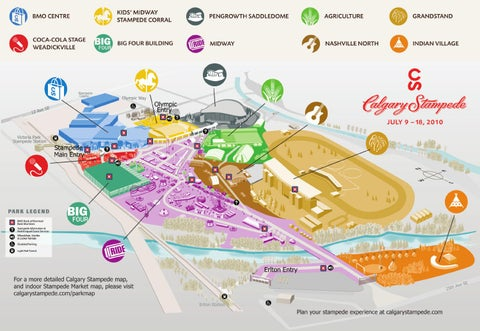 Calgary Stampede Map Compressportnederland