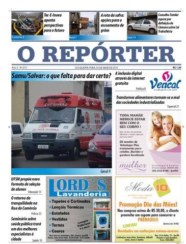 e819a11c3 Jornal O Repórter - Edição 05/05/2010 by Jornal O Repórter - issuu