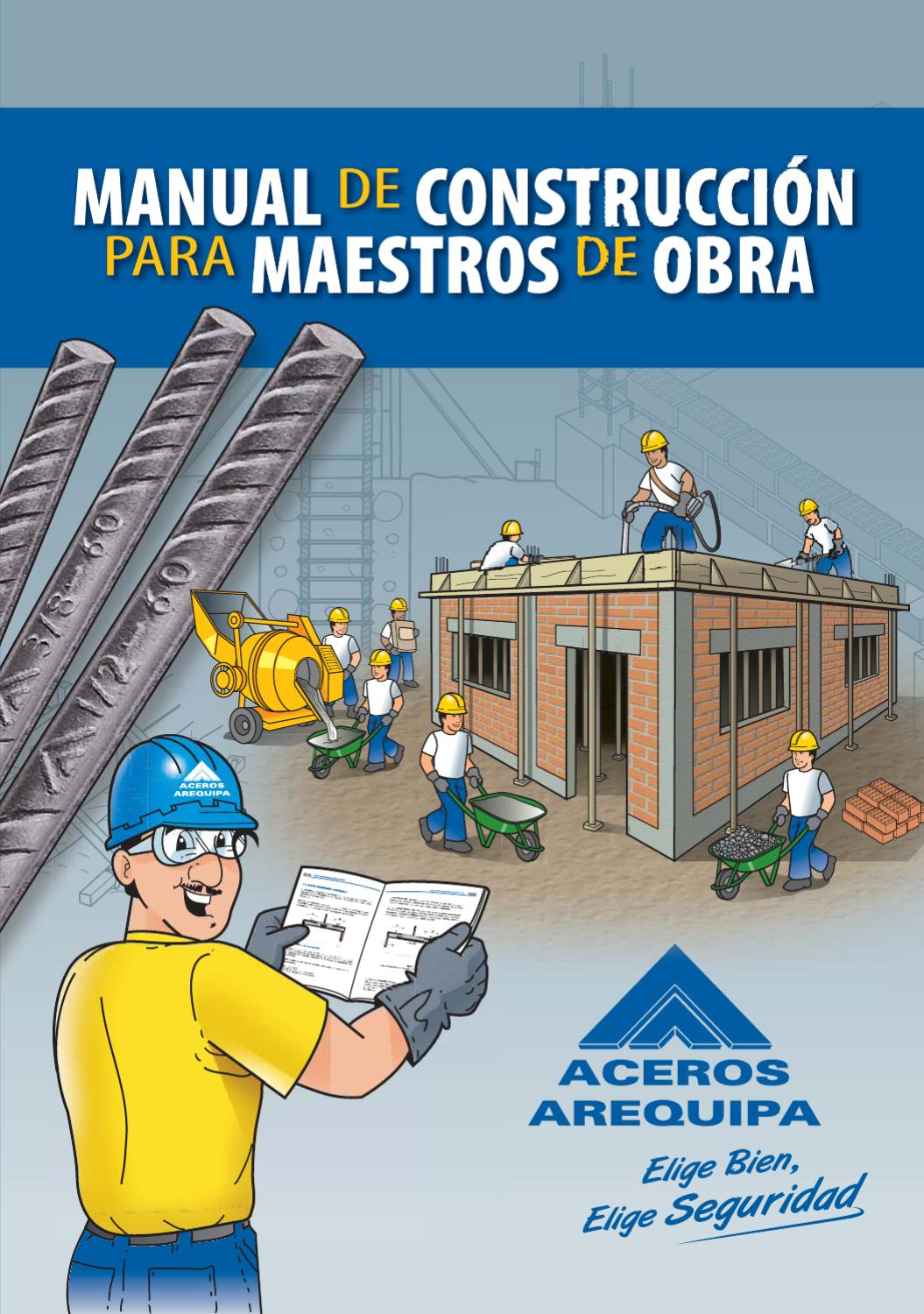 Manual de construcci n para maestros de obra by for Construccion de estanques para piscicultura