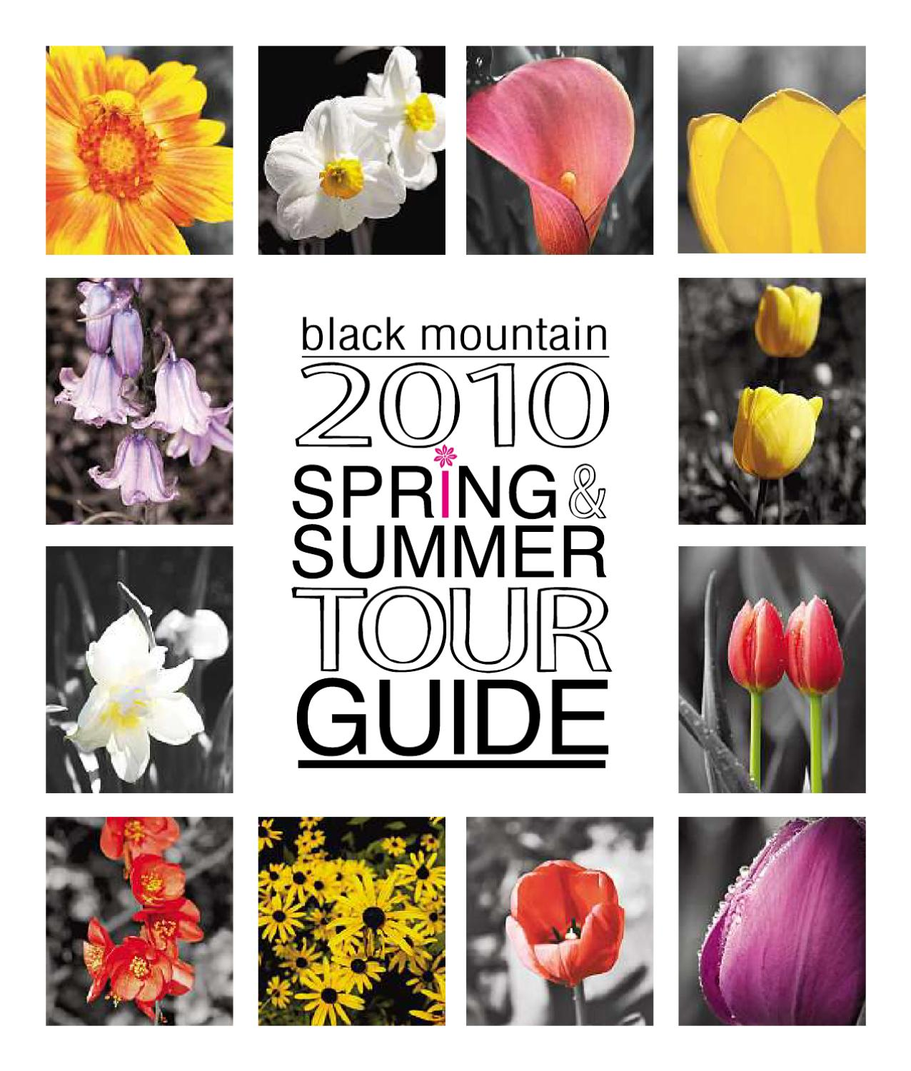 black mountain 2010 spring summer tour guide by stacey issuu. Black Bedroom Furniture Sets. Home Design Ideas