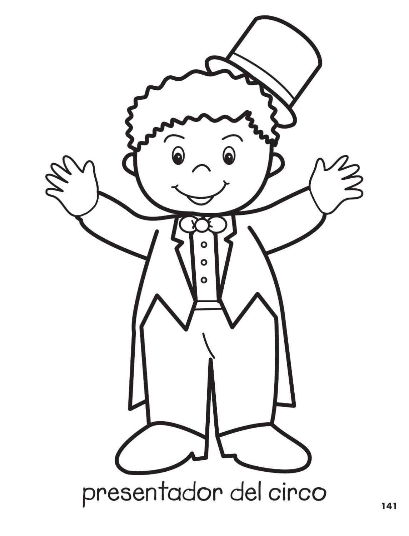 Lujoso Circo Para Colorear Para Preescolar Ornamento - Dibujos Para ...