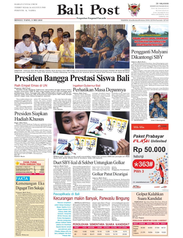 Edisi 9 Mei 2010