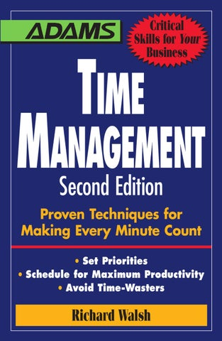 Time management by amanda chia issuu page 1 malvernweather Gallery