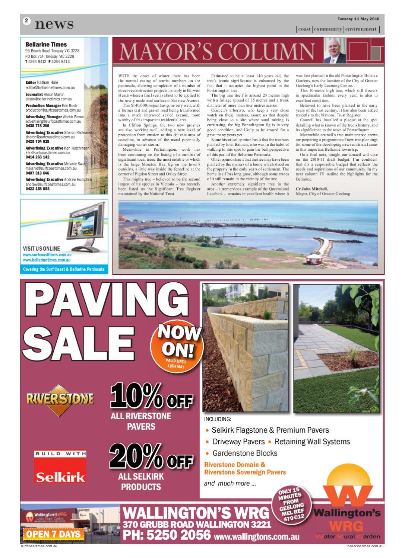 Bellarine Times May 10 by Surf Coast News Australia Pty Ltd   issuu