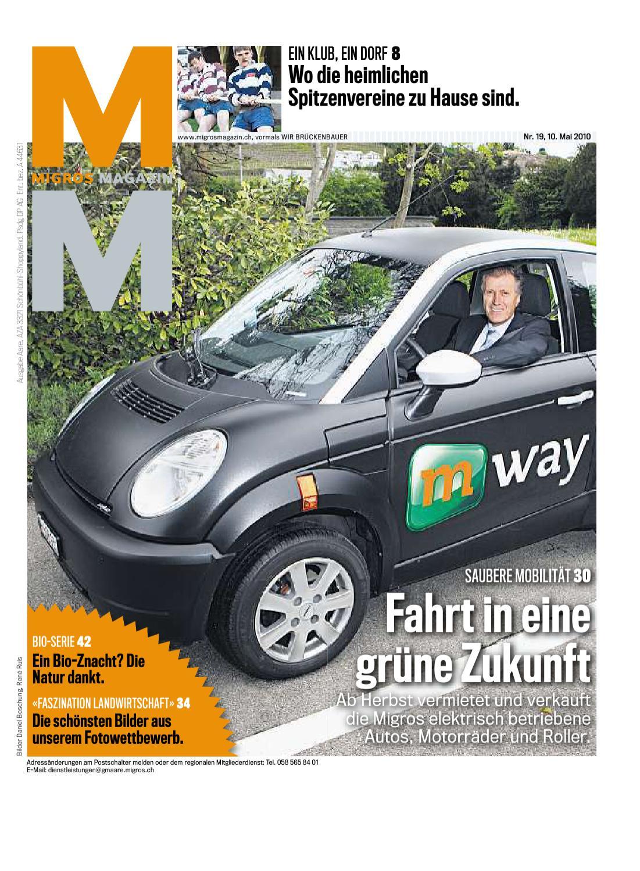 Migros Magazin 19 2010 d AA by Migros-Genossenschafts-Bund - issuu