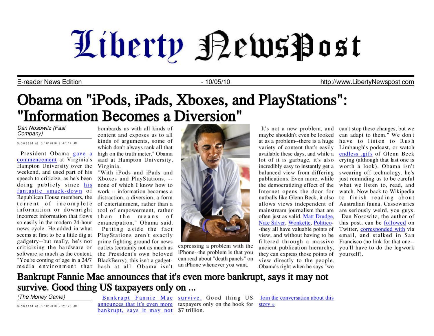 Liberty Newspost May-10-10 by Liberty Newspost - issuu