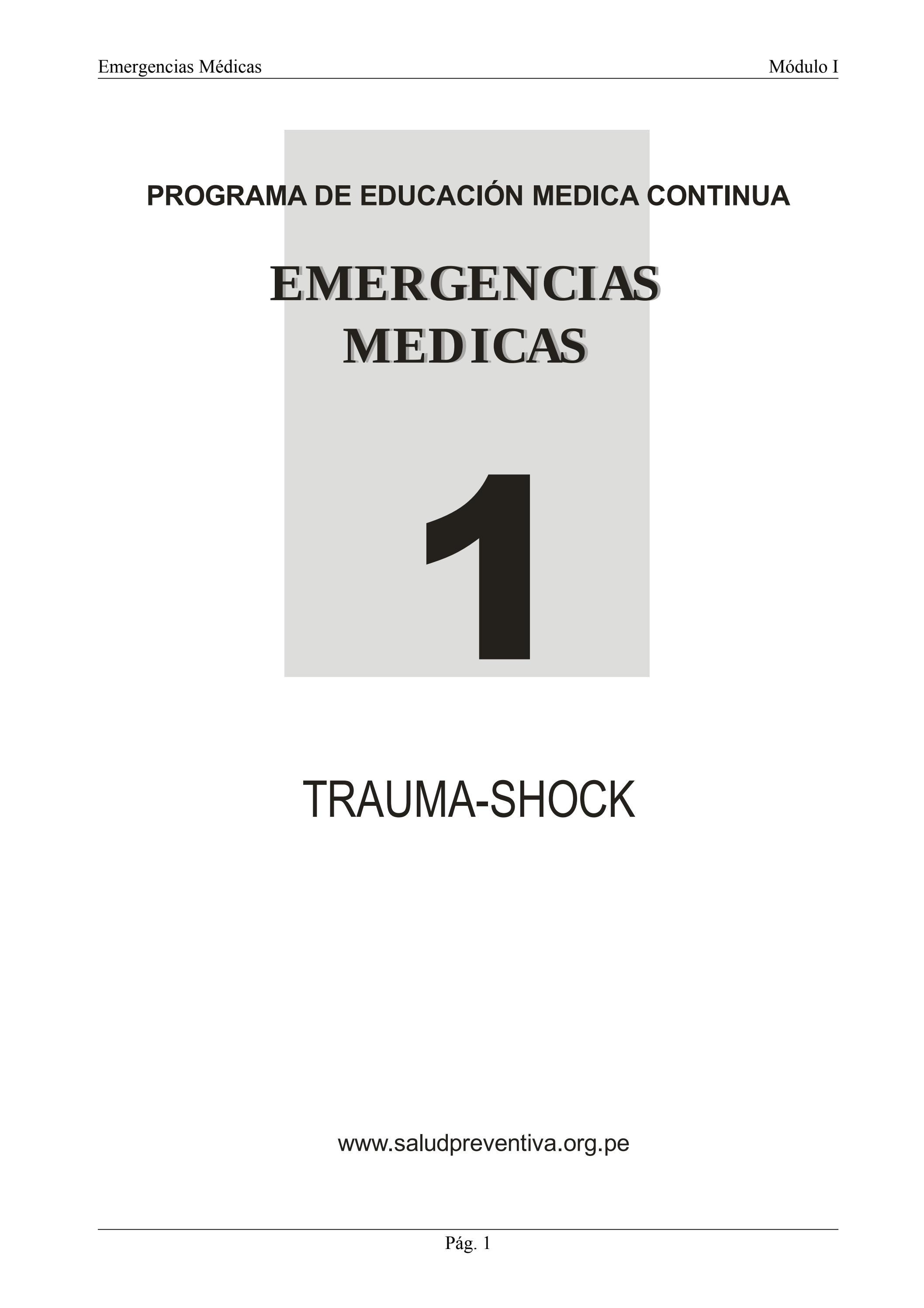 Emergencias Médicas I by Salud Preventiva Andina Salud Preventiva ...
