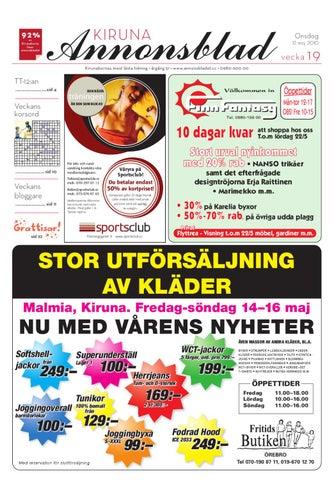8e430db68e3 Kiruna Annonsblad 2010 v.19 by Svenska Civildatalogerna AB - issuu