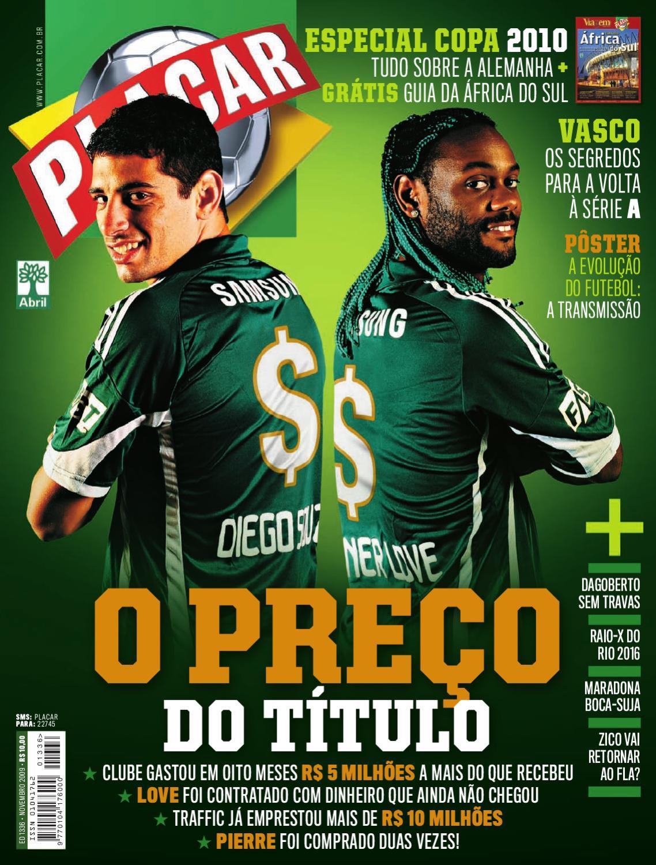 e9fc0debf7 Placar Novembro 2009 by Revista Placar - issuu