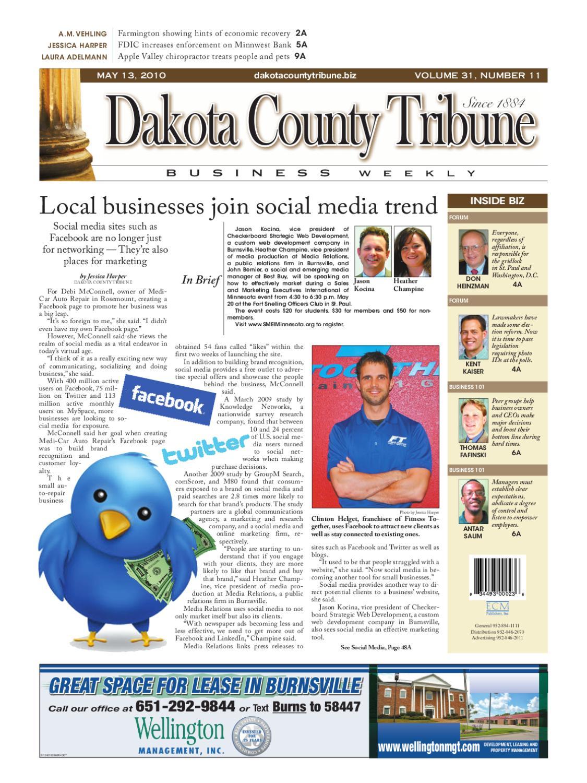 abe694ca538 05 13 2010 - Dakota County Tribune Business Weekly by Dakota County Tribune  - issuu