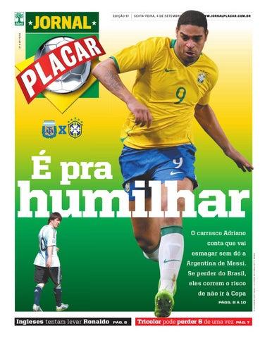 jornal-placar-edicao-91 by Revista Placar - issuu 7ba2578093e6d